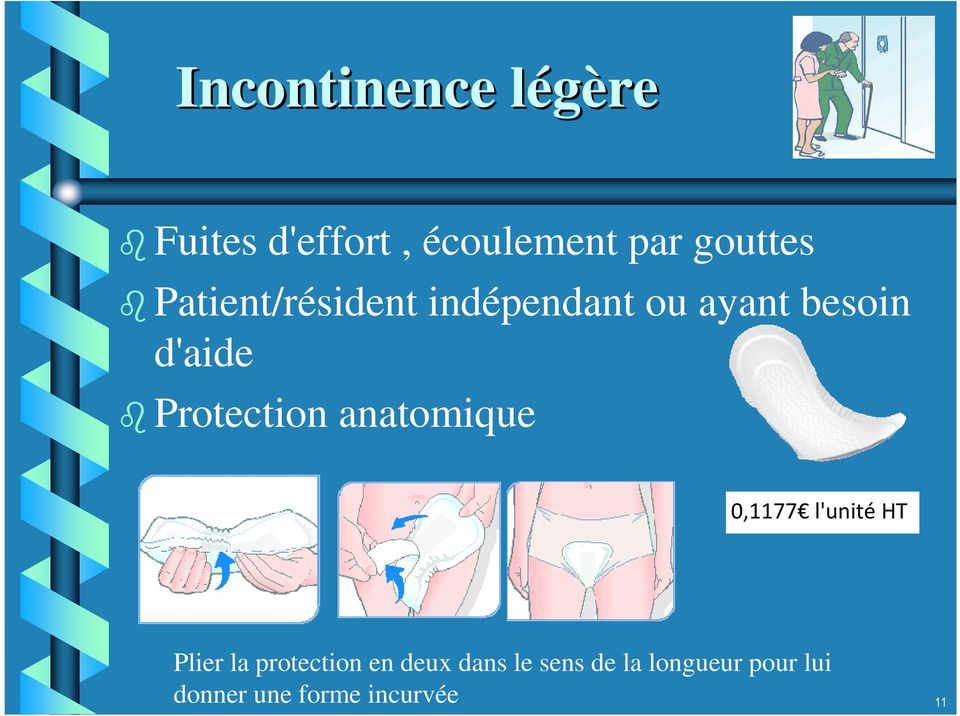 Protection anatomique 0,1177 l'unité HT Plier la protection