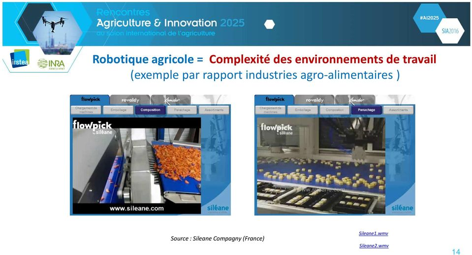 rapport industries agro-alimentaires )