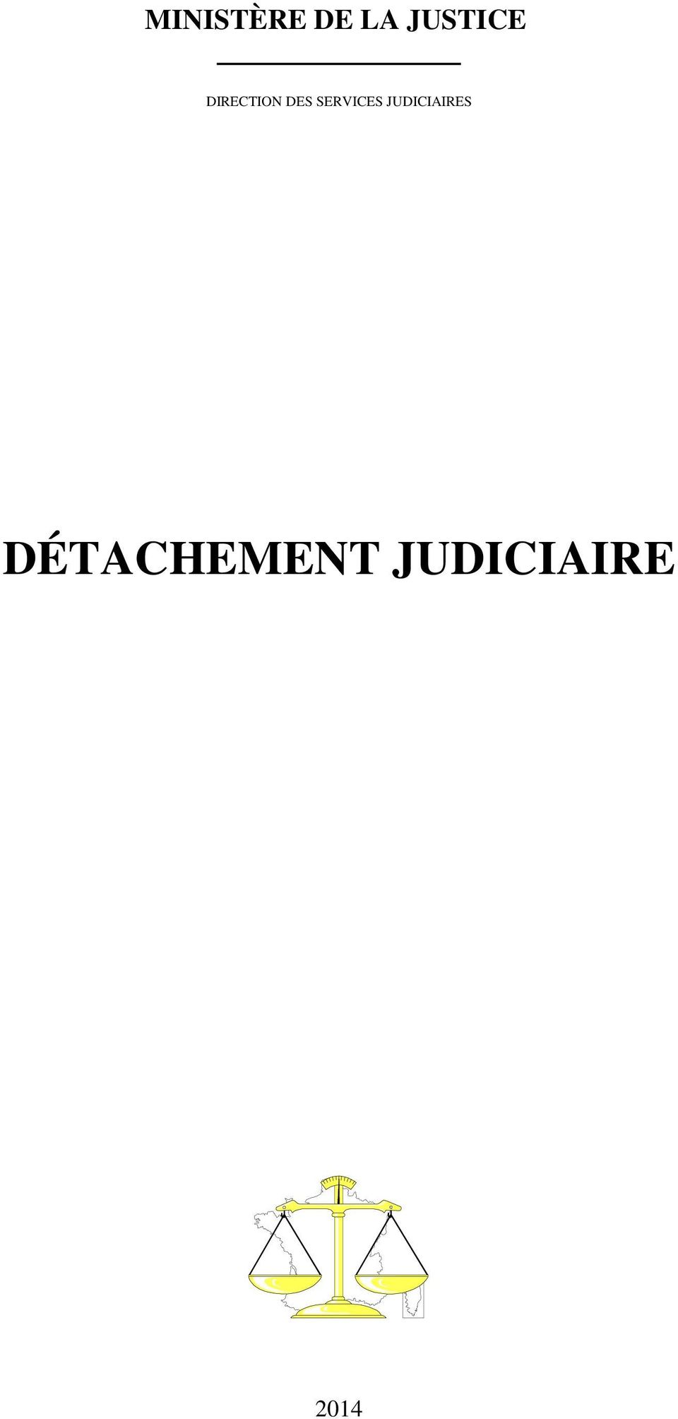 SERVICES JUDICIAIRES