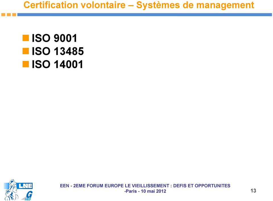 de management ISO
