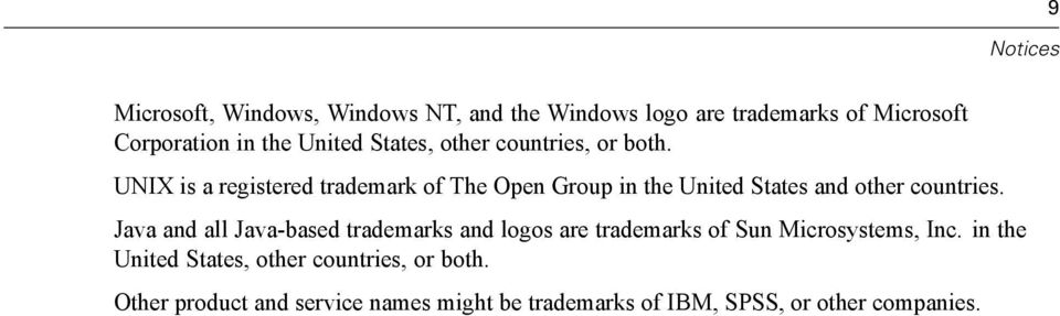 UNIX is a registered trademark of The Open Group in the United States and other countries.