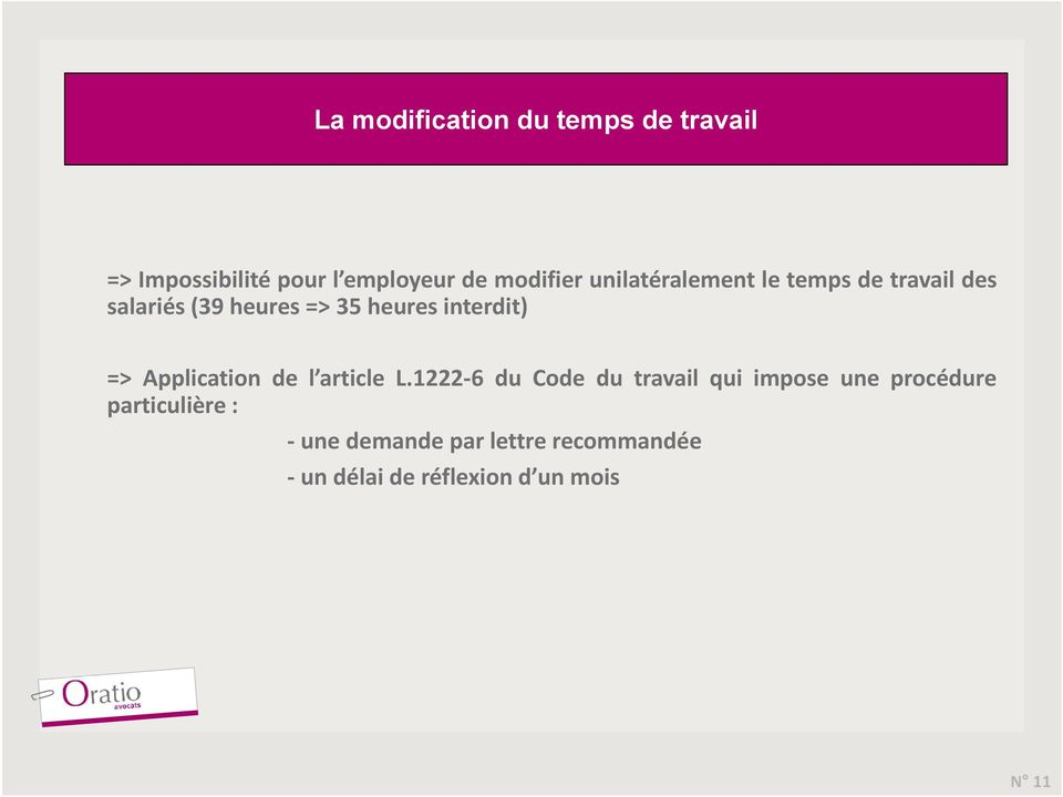 => Application de l article L.