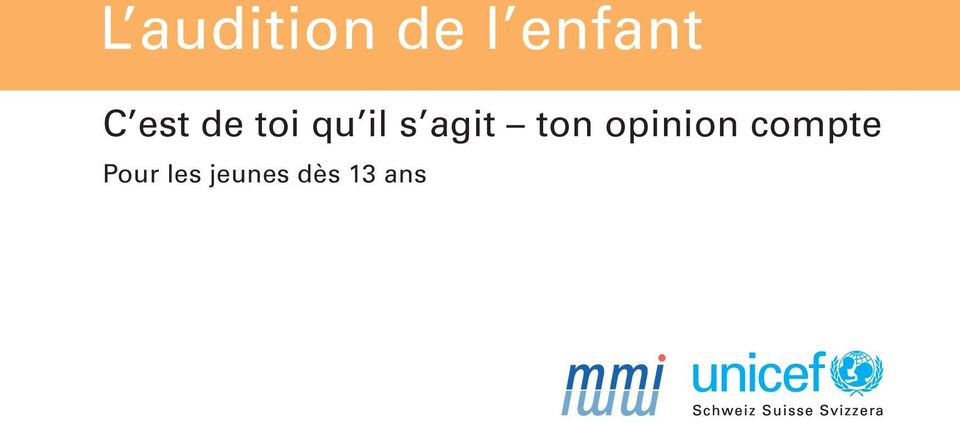 agit ton opinion compte