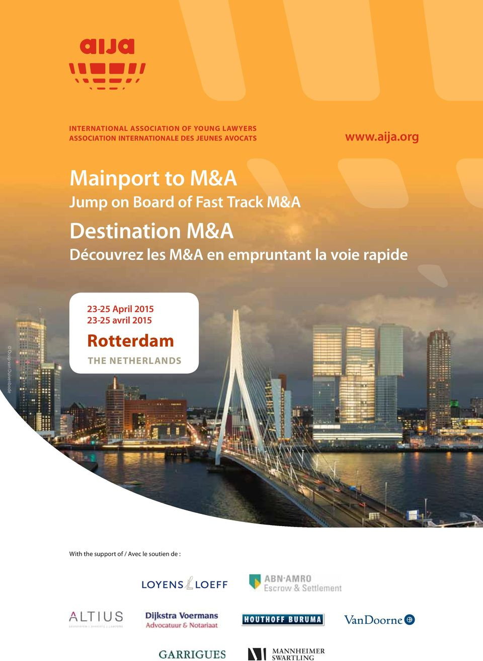 org Mainport to M&A Jump on Board of Fast Track M&A Destination M&A Découvrez les M&A