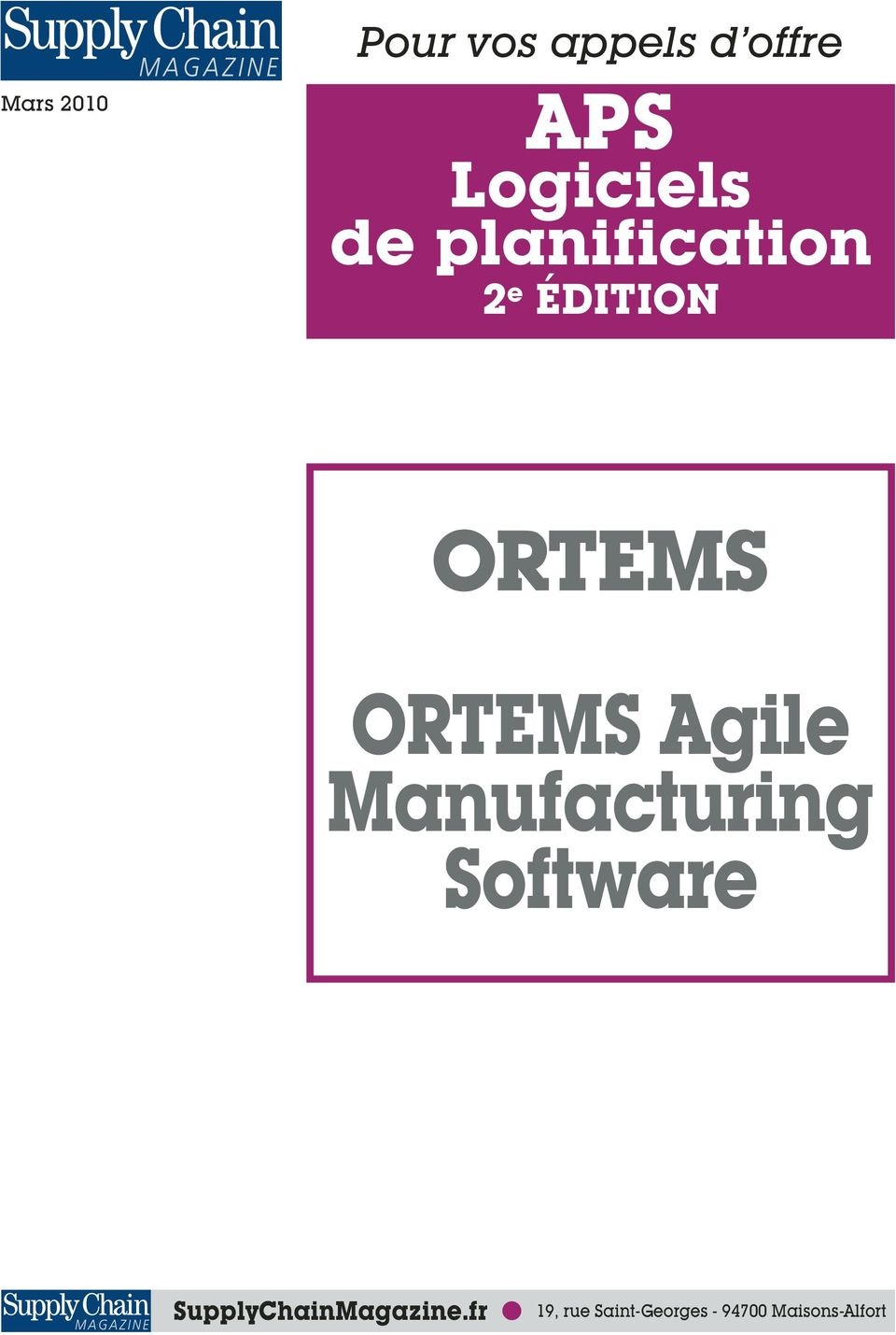 RTEMS Agile Manufacturing Software