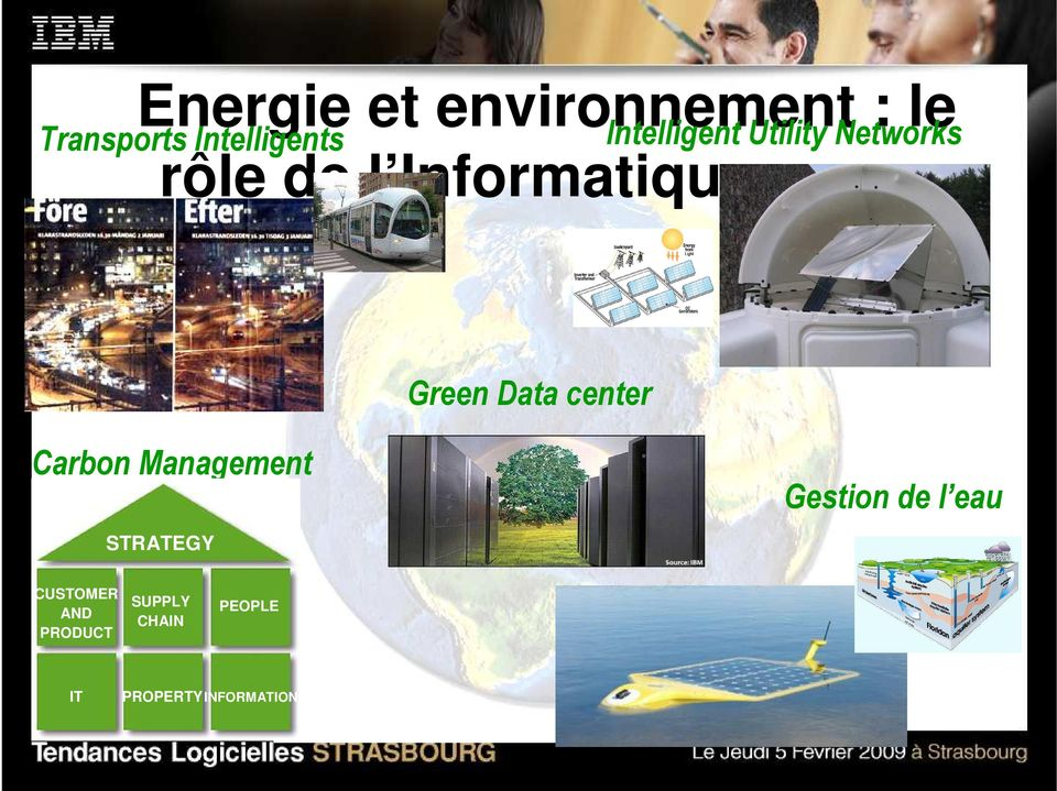Data center Carbon Management STRATEGY Gestion de l eau