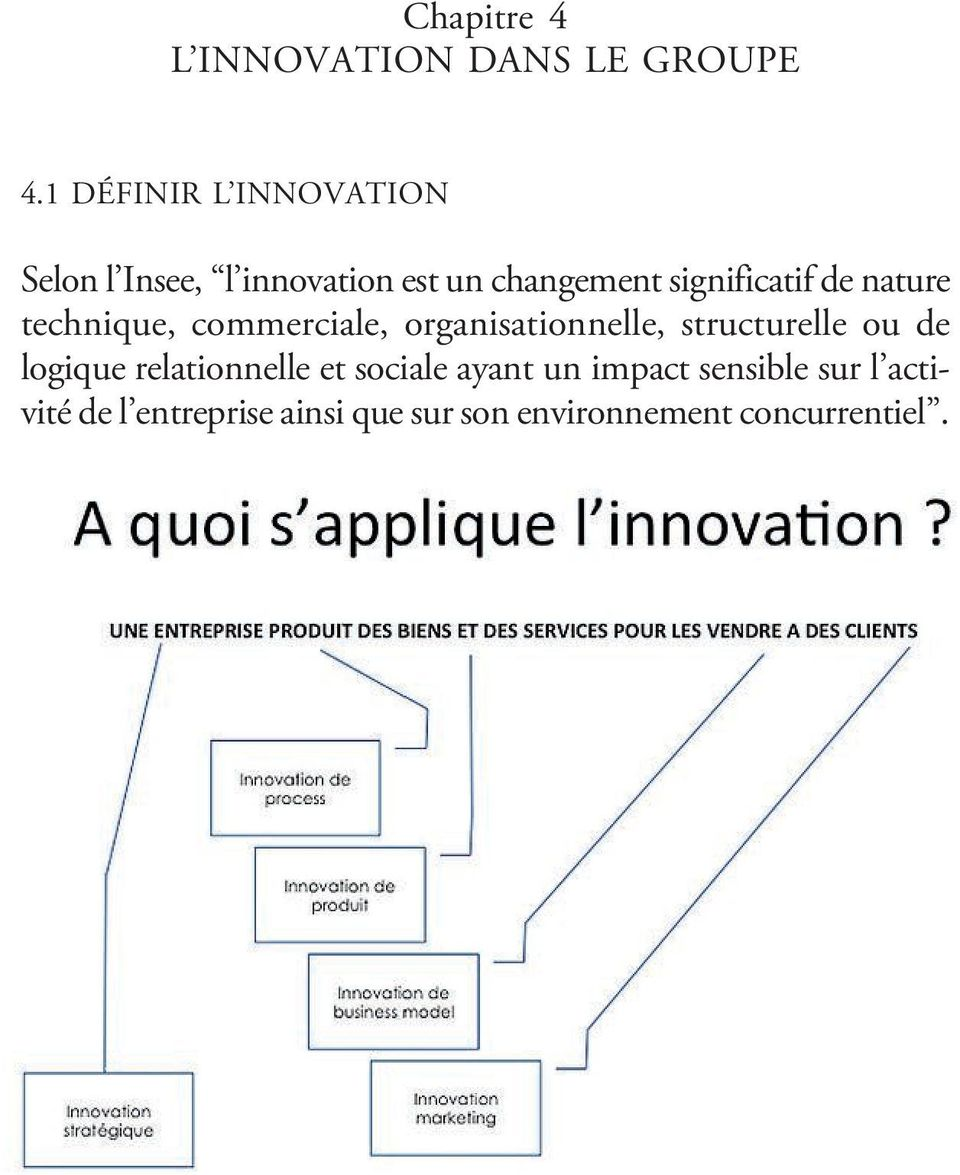 de nature technique, commerciale, organisationnelle, structurelle ou de logique