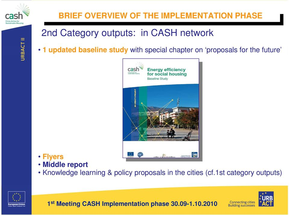 proposals for the future Flyers Middle report Knowledge learning & policy proposals in