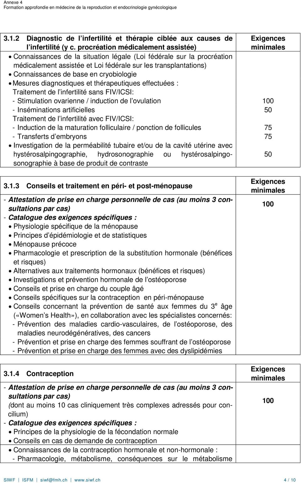 cryobiologie Mesures diagnostiques et thérapeutiques effectuées : Traitement de l infertilité sans FIV/ICSI: - Stimulation ovarienne / induction de l ovulation 100 - Inséminations artificielles 50