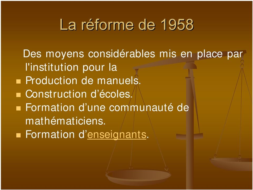 manuels. Construction d écoles.