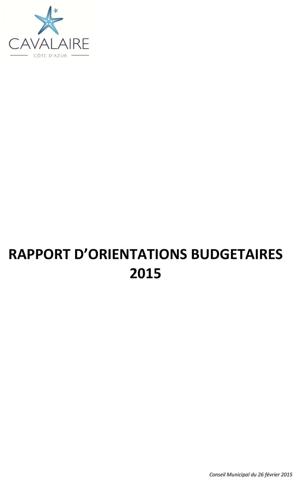 BUDGETAIRES 2015