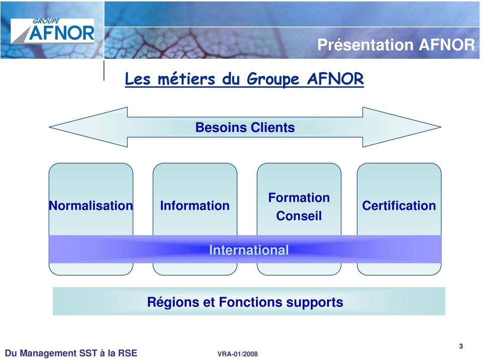 Information Formation Conseil