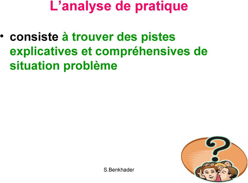 explicatives et