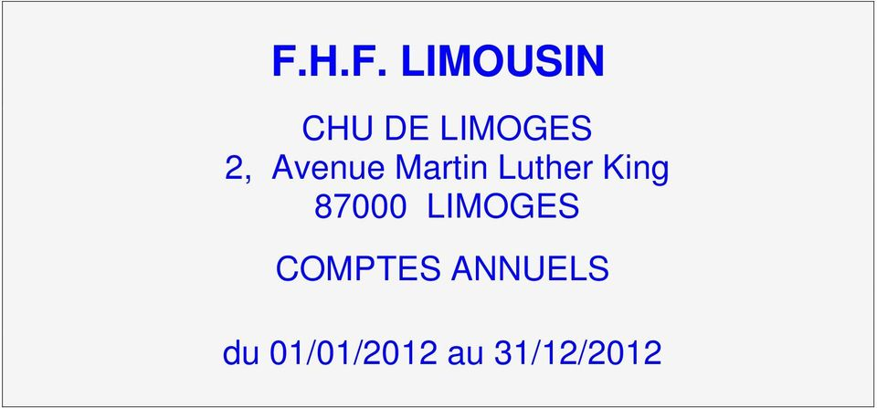 Luther King 87000 LIMOGES