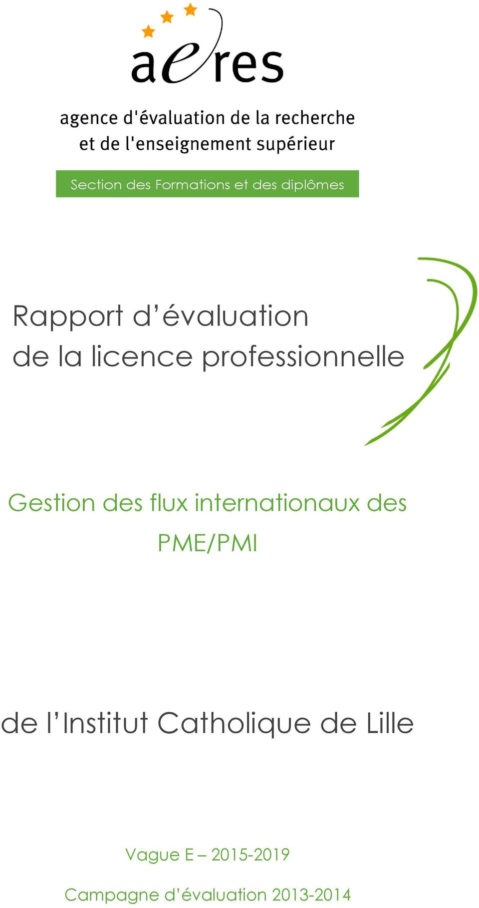 flux internationaux des PME/PMI de l Institut