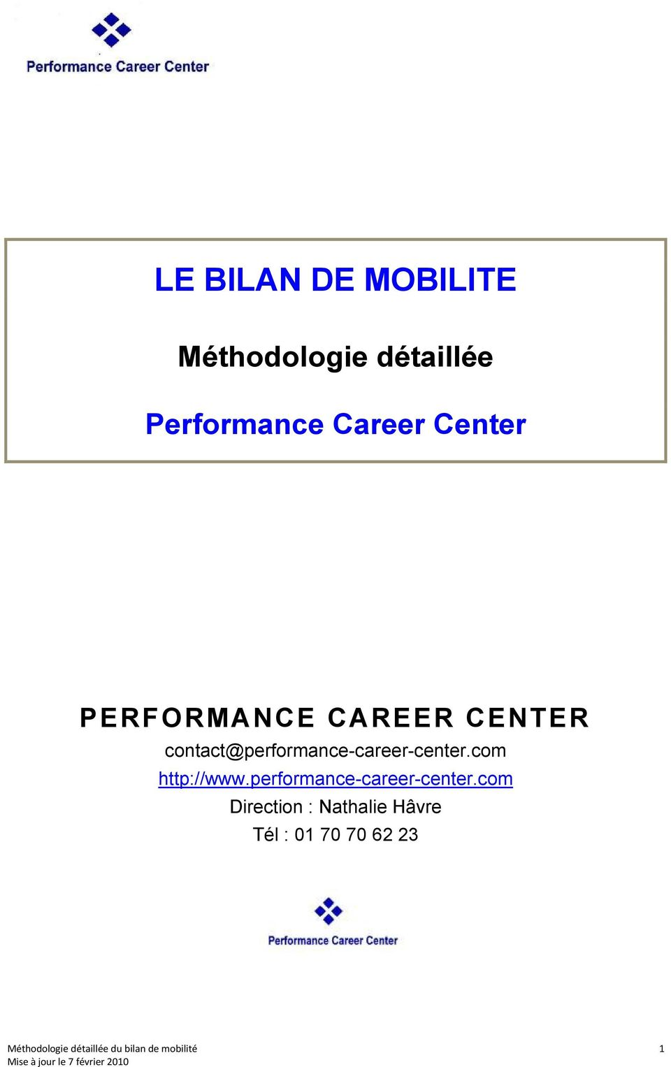 contact@performance-career-center.com http://www.