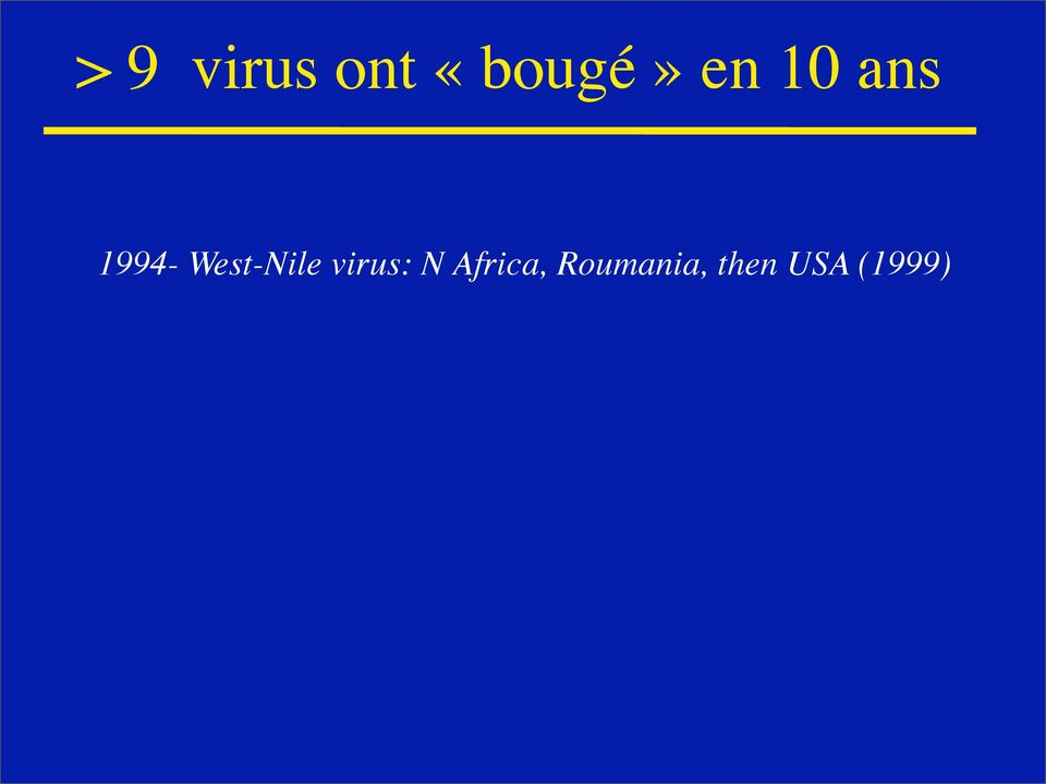 West-Nile virus: N