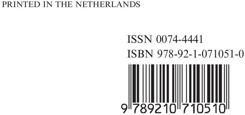 ISSN 0074-4441