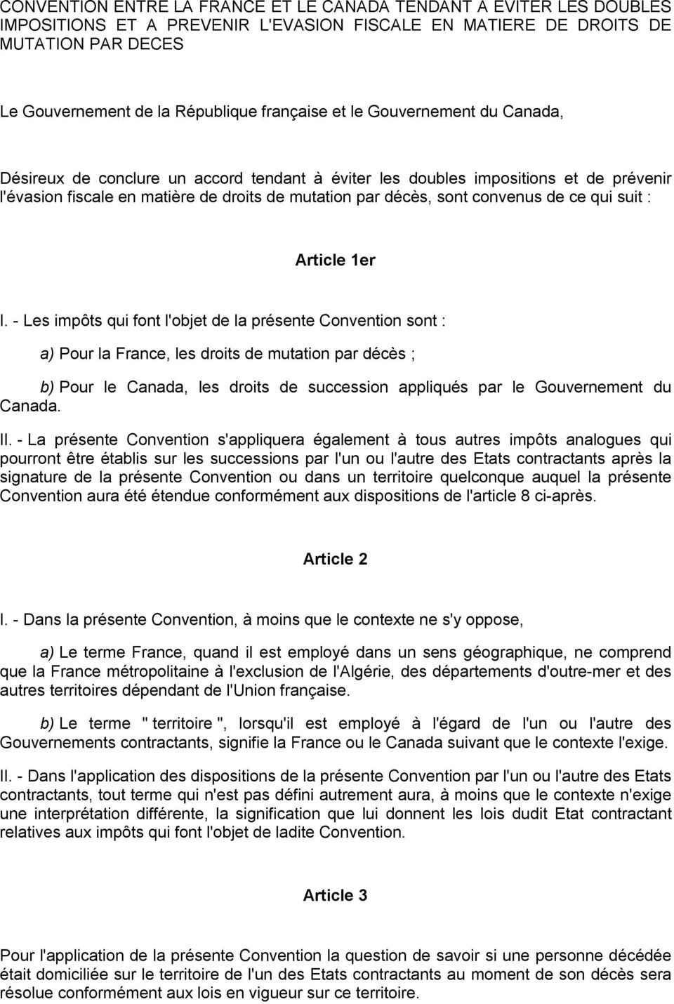 qui suit : Article 1er I.