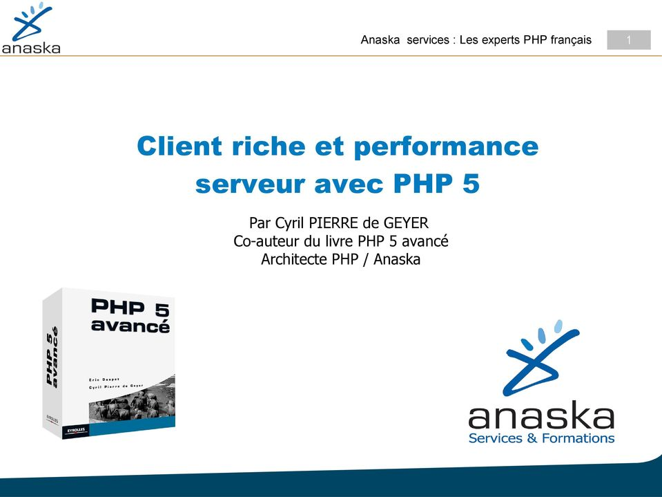 PHP 5 Par Cyril PIERRE de GEYER Co-auteur