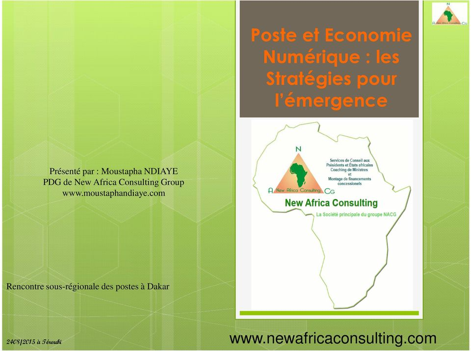Consulting Group www.moustaphandiaye.