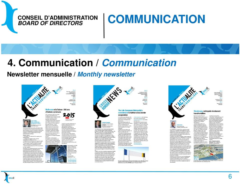 Communication Newsletter