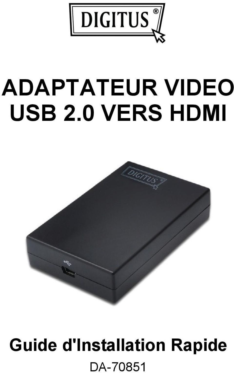 0 VERS HDMI Guide