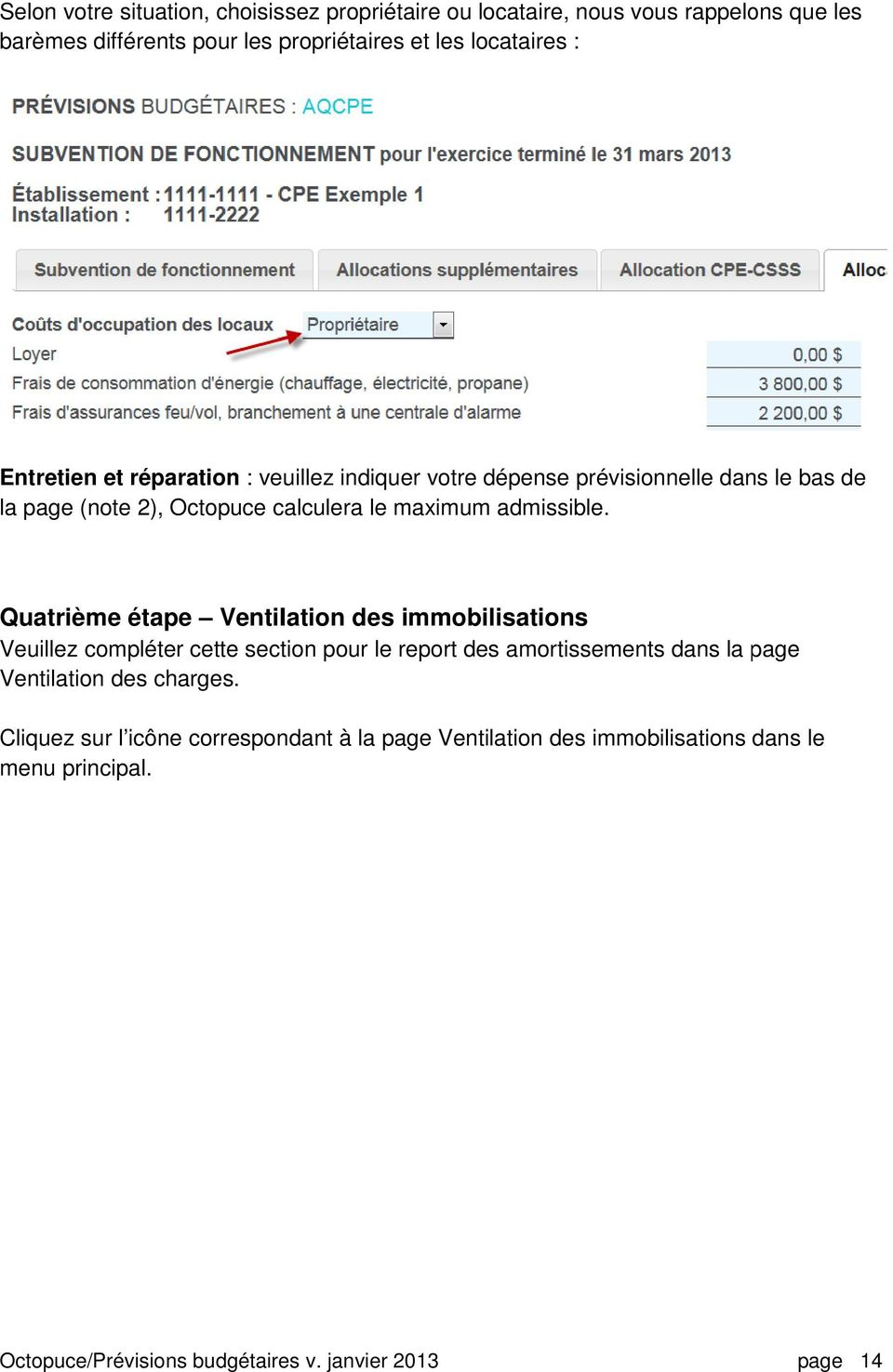 le maximum admissible.