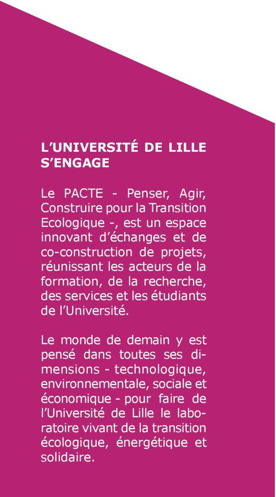 étudiants de l Université.