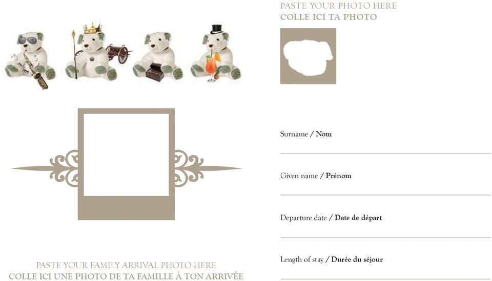 PastE your FaMiLy arrival PHoto HErE CoLLe ici une
