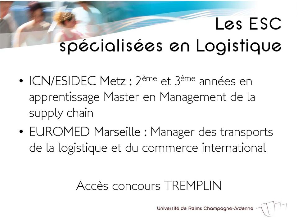 supply chain EUROMED Marseille : Manager des transports de