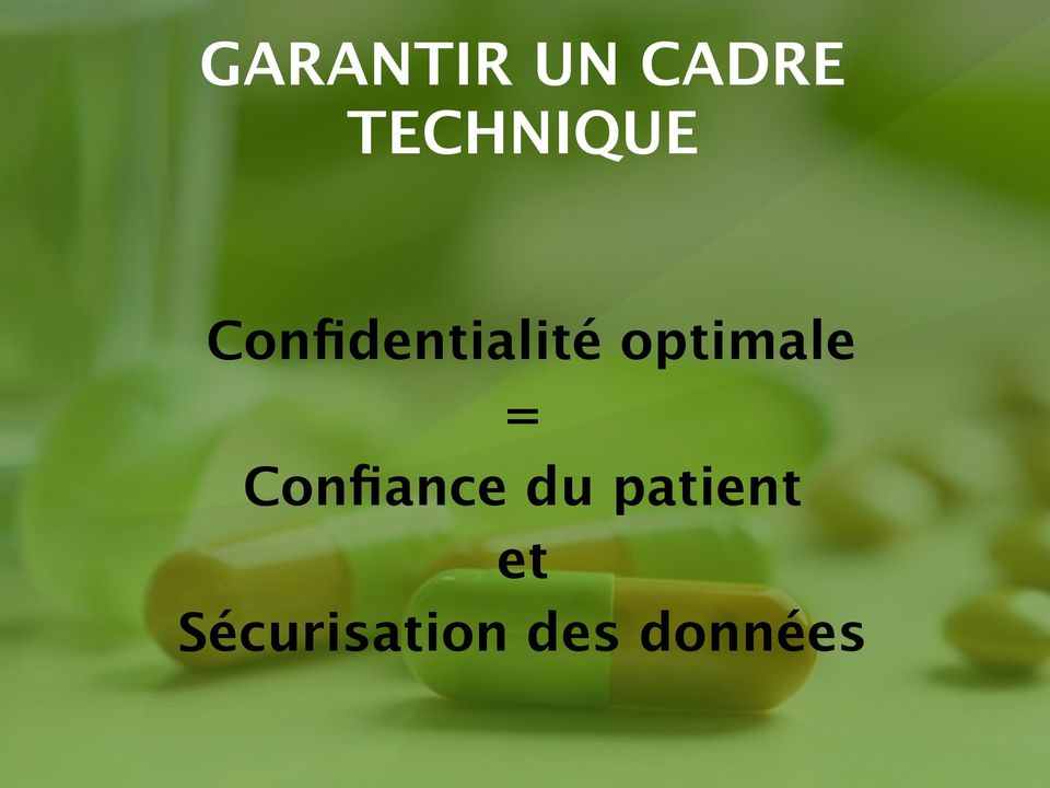 optimale = Confiance du