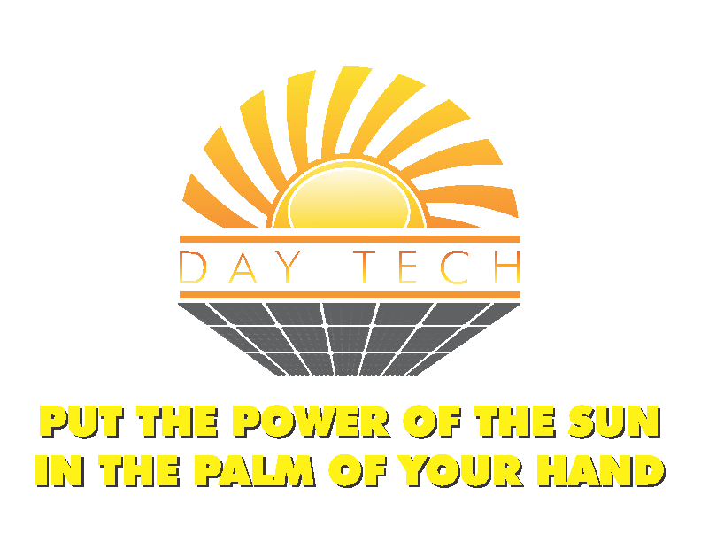 DAYTECH SOLAR CHARGER 5000 USER MANUAL Power Indication To display how much power is stored in the DAYTECH Solar Charger 5000, push down the black power button located on the back of the DAYTECH