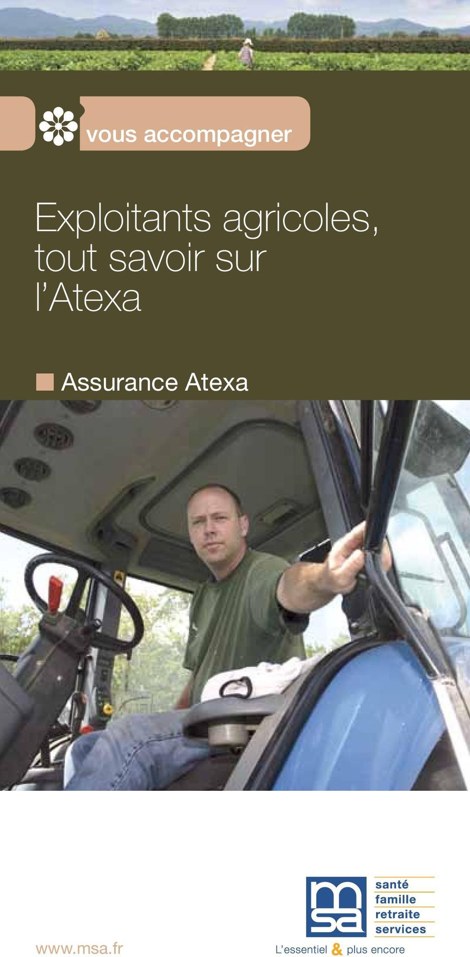 accompagner Exploitants agricoles,