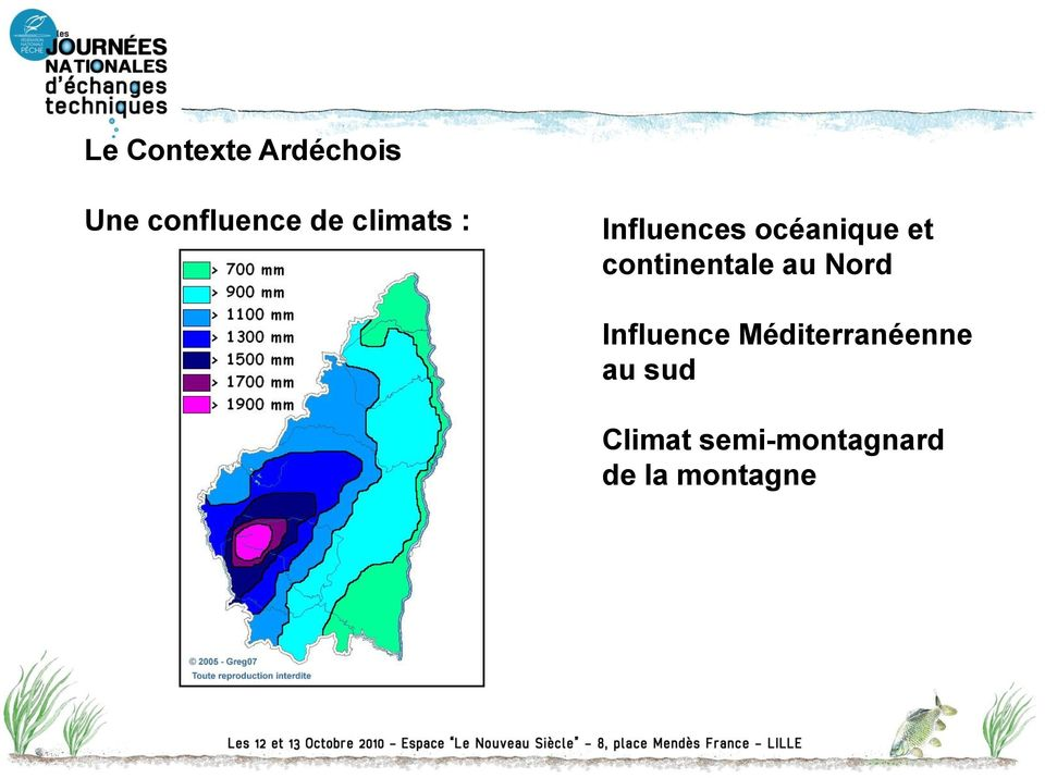 continentale au Nord Influence