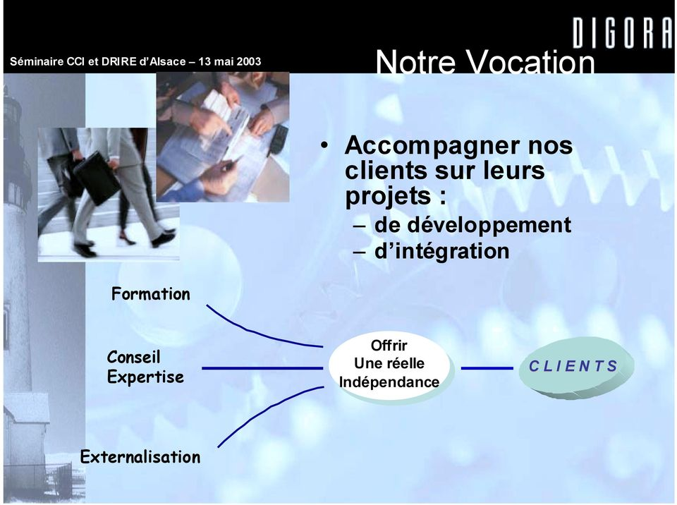 intégration Formation Conseil Expertise