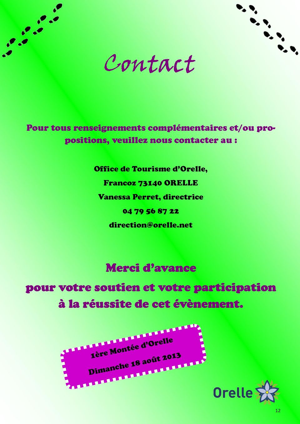 directrice 04 79 56 87 22 direction@orelle.