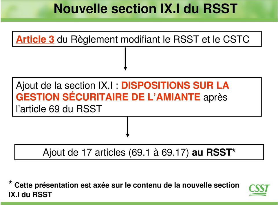 section IX.