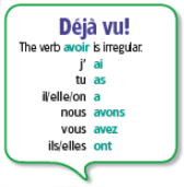 Chapitre 7 - Grammaire 2 - notes The passé composé of -er verbs : To tell what happened in the past, use a verb in the passé composé.