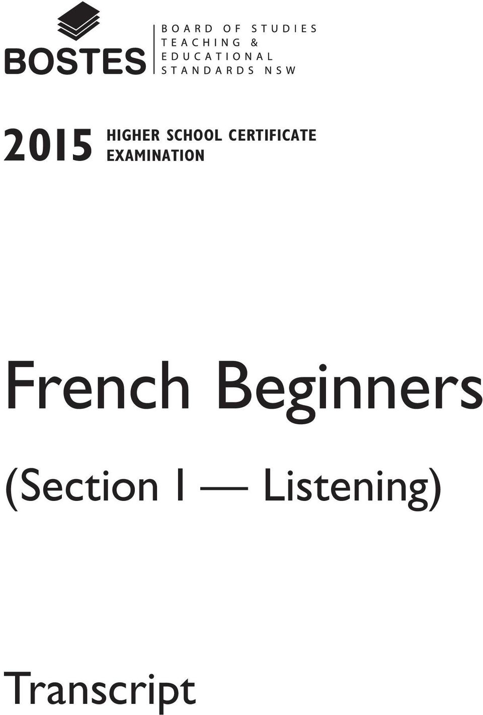 French Beginners (