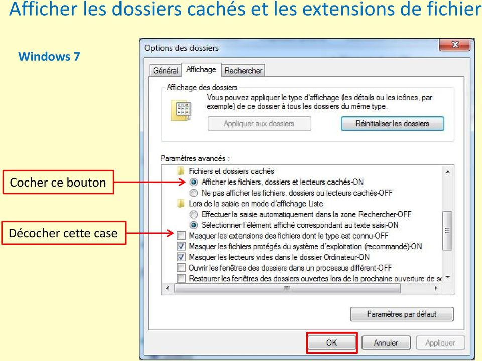 de fichier Windows 7