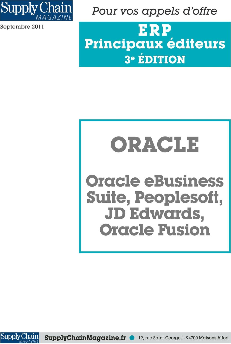 ebusiness Suite, Peoplesoft, JD Edwards, Oracle