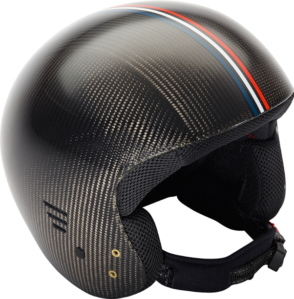 RACING DEPARTMENT RACING DEPARTMENT CASQUE SPEED SPEED HELMET CASQUE TORINO CARBON TORINO CARBON HELMET Coque ABS ABS shell Coque carbone Carbon shell Tailles enfants Kids sizes Norme FIS 6.