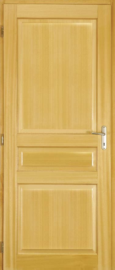 Portes bois exotique ch ne pic a h tre pdf for Dimension bloc porte 83