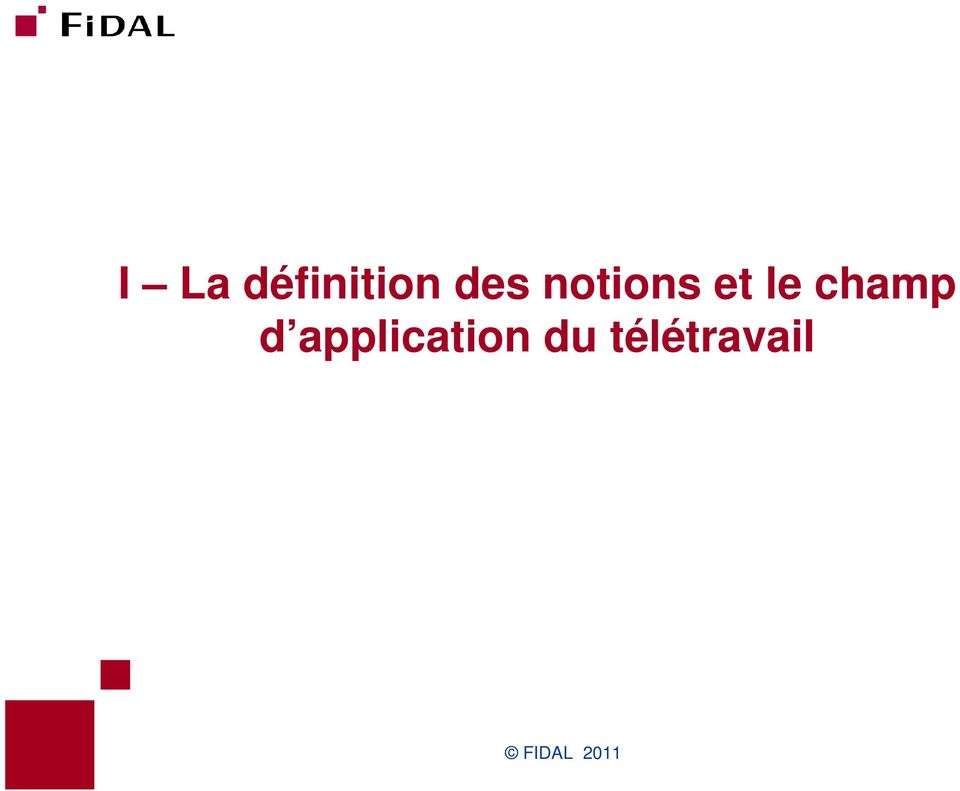 d application du