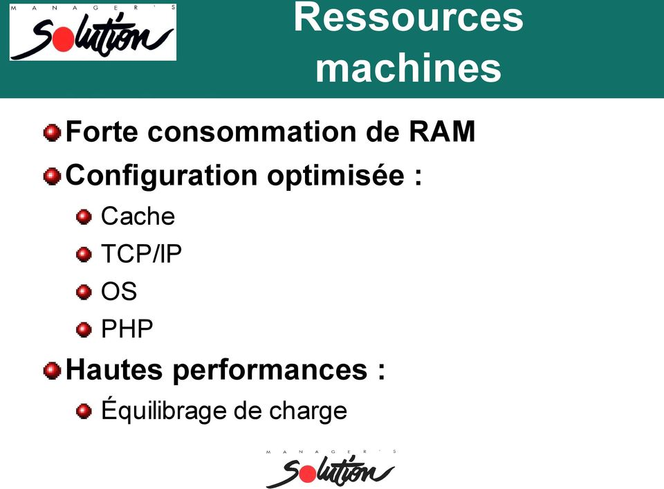 optimisée : Cache TCP/IP OS PHP