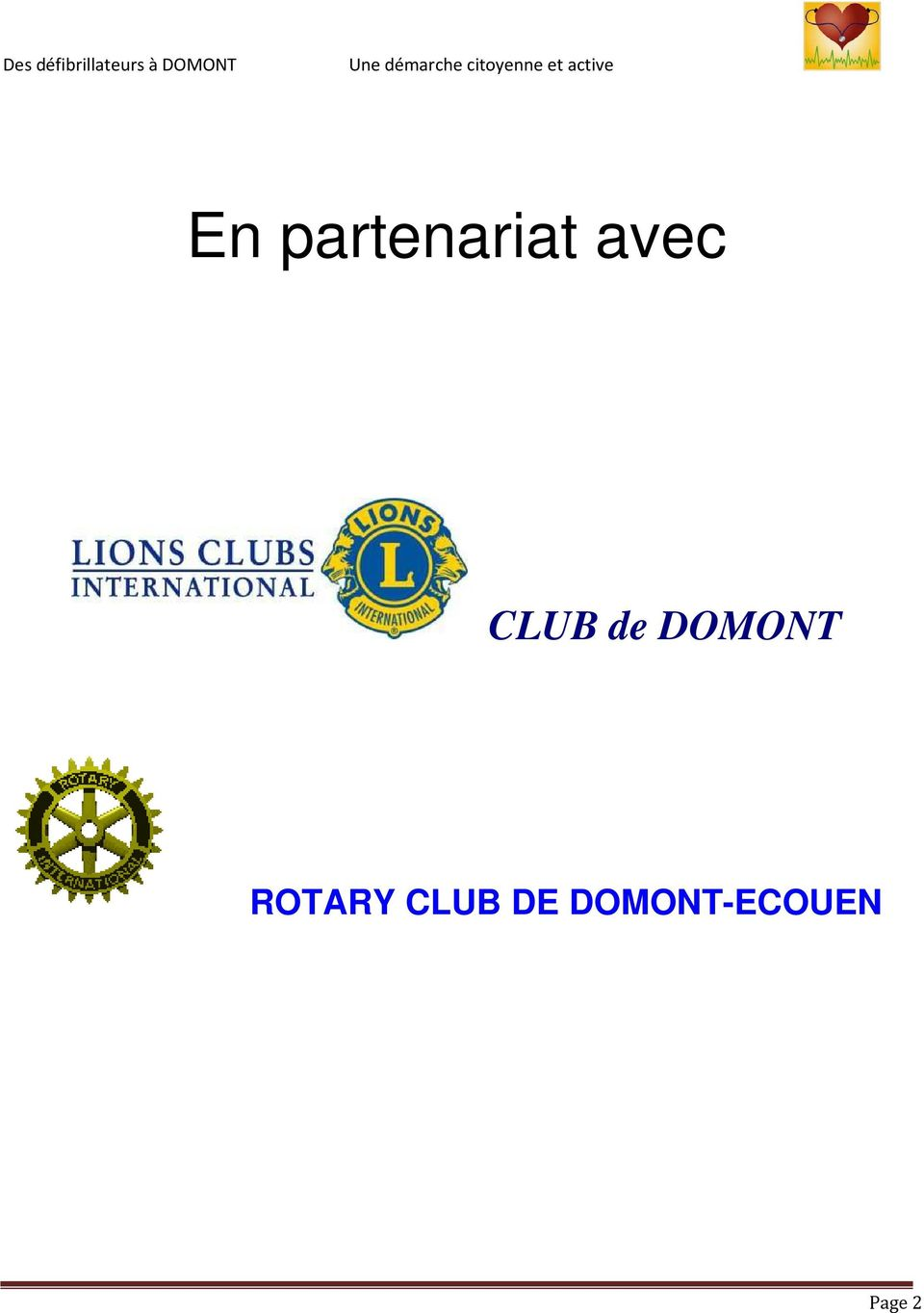 DOMONT ROTARY