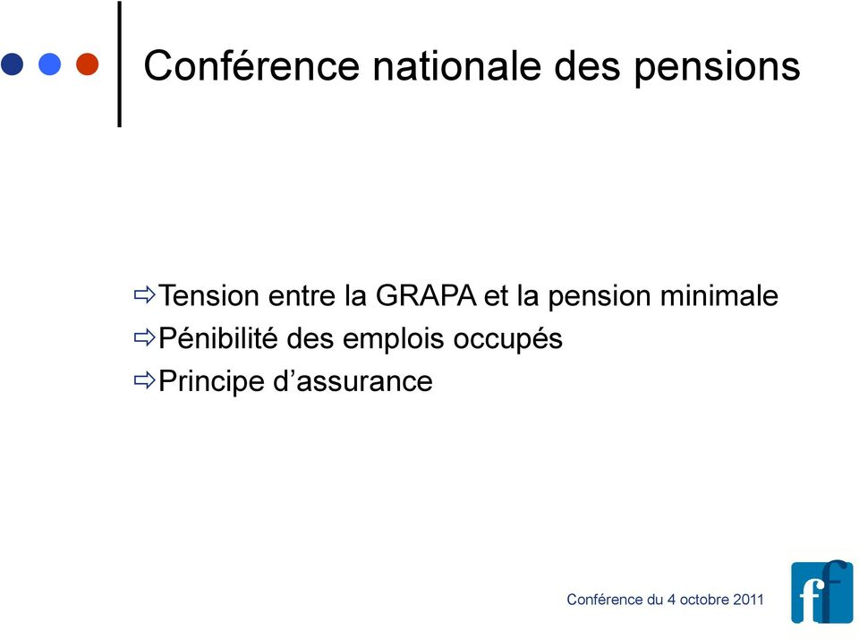 et la pension minimale