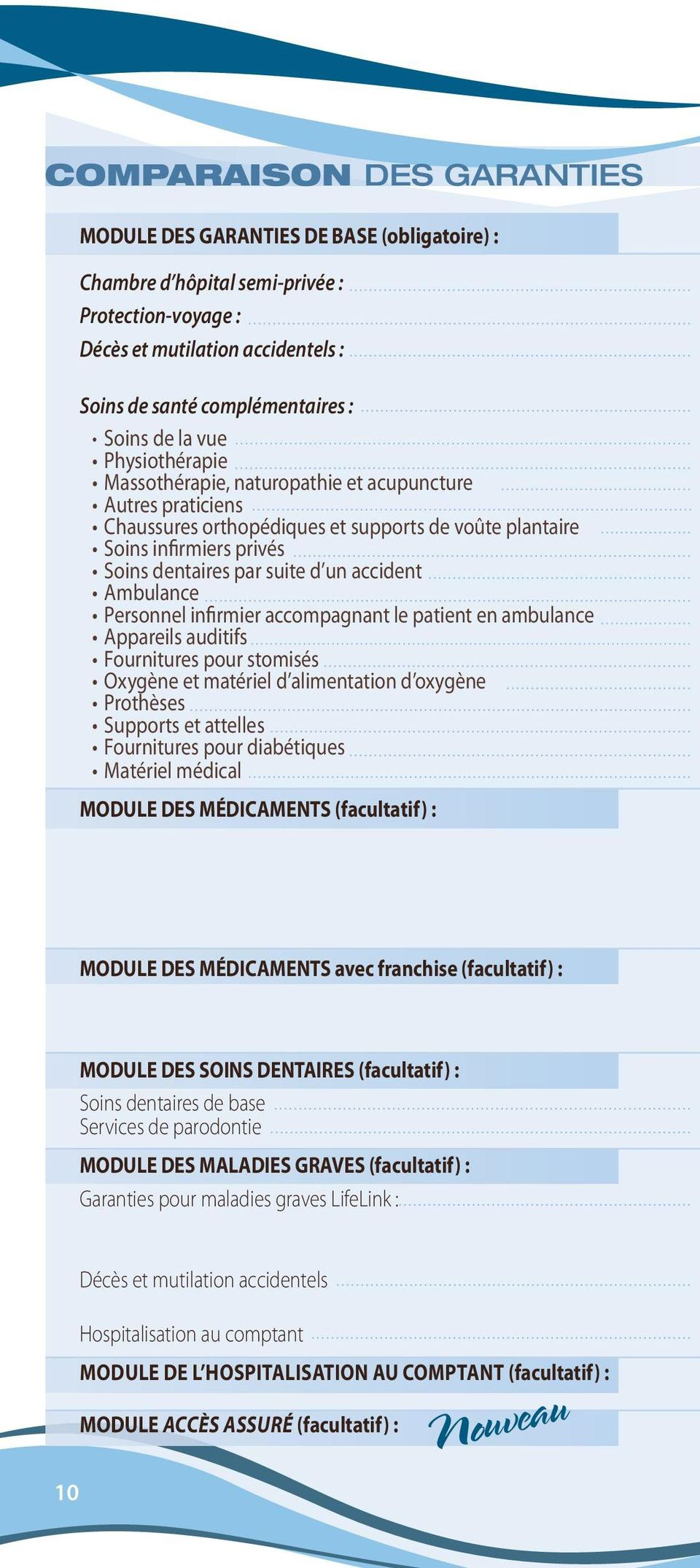 accident ambulance Personnel infirmier accompagnant le patient en ambulance appareils auditifs Fournitures pour stomisés Oxygène et matériel d alimentation d oxygène Prothèses Supports et attelles