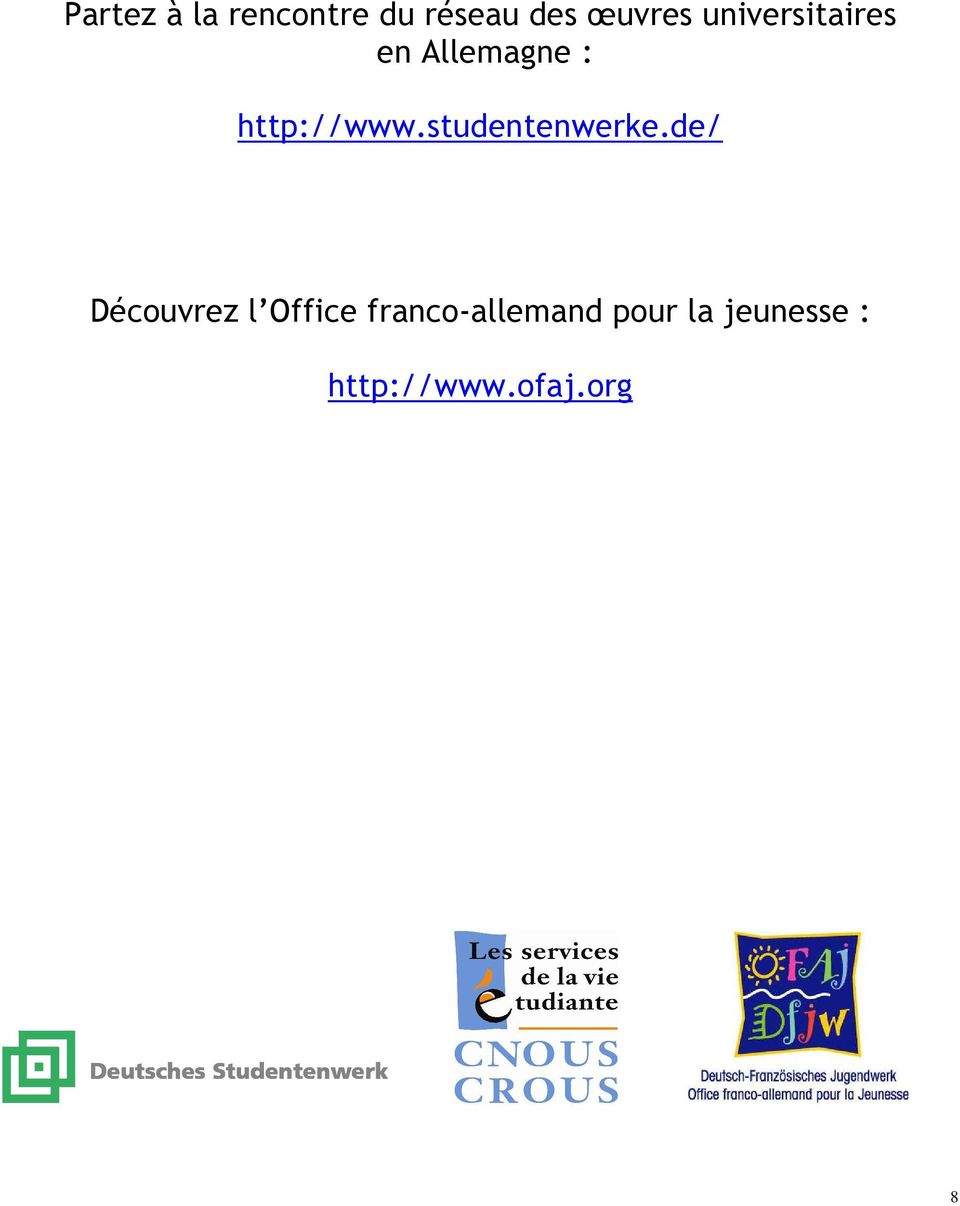 Elus tudiants des uvres universitaires pdf - Office allemand d echanges universitaires ...